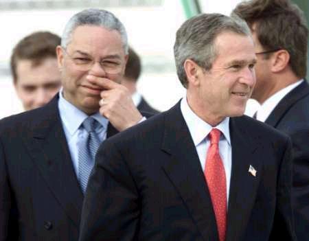 Bush farted