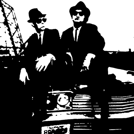 blues brothers vector