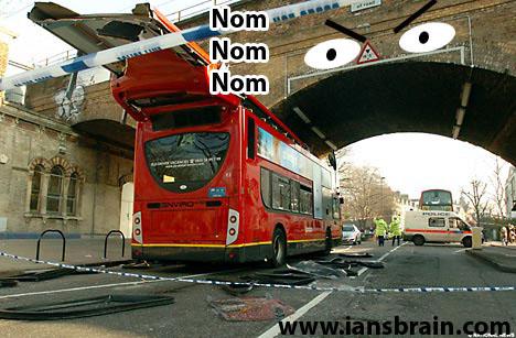 Double Decker Bus Nom Nom Nom